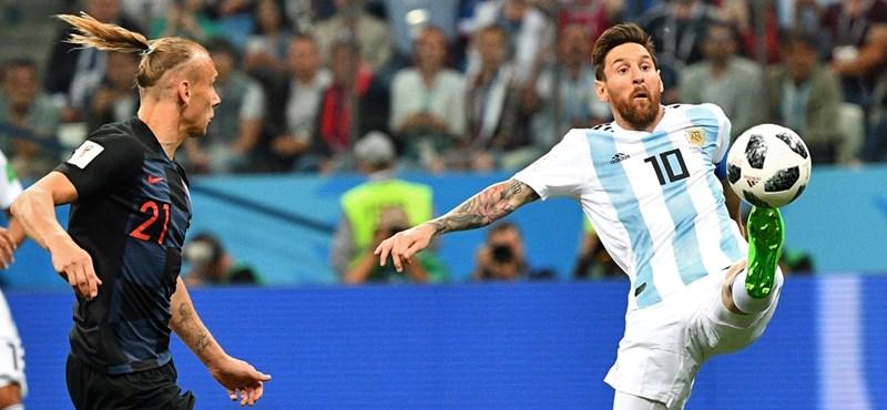 Argentína - Horvátország 0-3