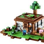 Itt vannak az új Lego Minecraft-készletek