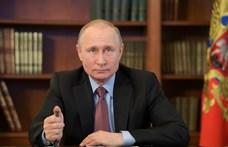 Hárommillió forintnyi rubelért árulják Putyin régi névjegykártyáját