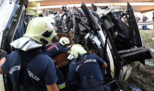 La agencia de viajes confirmó a hvg.hu: El conductor del autobús que estuvo involucrado en el accidente también se encuentra entre las víctimas