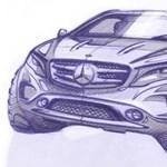 Új Mercedest villantottak