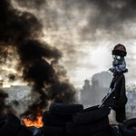 Törékeny béke és épülő barikádok Kijevben - Nagyítás-fotógaléria