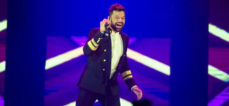 Ricky Martin megmutatta 8 hónapos kislányát