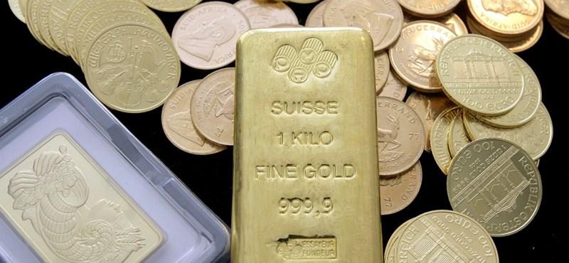 Automatából is lehet aranyat vásárolni Kínában