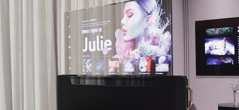 Ágykeretből előbújó tévét fejlesztett az LG