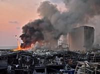 A magyar nagykövetség épületét is megtépázta a bejrúti robbanás